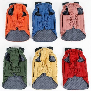 Water Repellent Quilted Dog Coat 6 colours