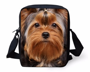 yorkshire terrier school bag