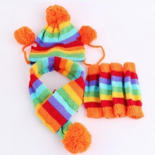 Hat and Scarf Set for Dogs – with Socks