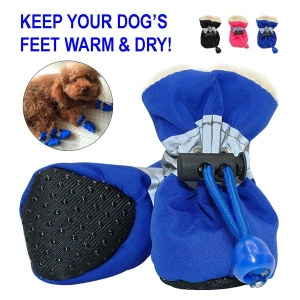 waterproof dog shoes to keep your dog warm and dry