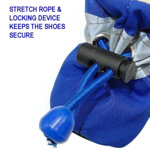 waterproof shoes for dogs locking device