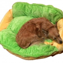 Hot Dog Novelty Dogs Bed