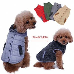 Reversible Winter Jacket for Dogs