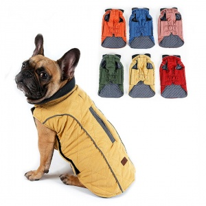 Water-Repellent-Quilted-Dog Coat